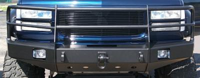 Front winch bumper 88-00 Chevrolet & GMC pickups 92-94 Blazer 92-99, Suburban and Tahoe (1988-1999)